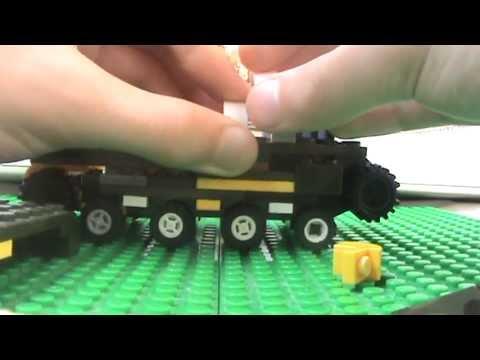 Как Сделать Бтр Из Лего Инструкция