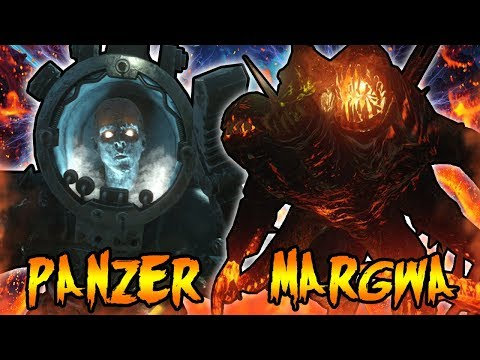 PANZER SOLDAT vs MARGWA! BOSS VS BOSS FIGHT! Call of Duty Zombies Black Ops 3 Storyline