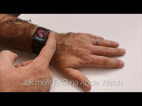 Jak si změřit EKG na Apple Watch? [4K] (Alisczech vol. 155)