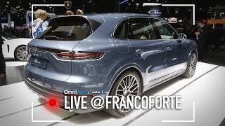 Nuova Porsche Cayenne, più lusso e sportività | Salone di Francoforte 2017