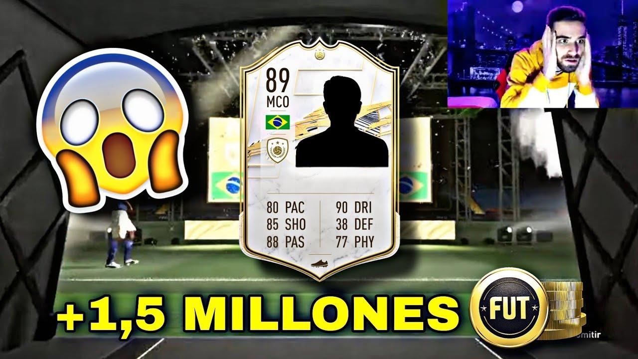 ICONO BRASILEÑO TOP *+1.500.000 MONEDAS* EN EL SBC DE ICONO ASEGURADO!!😱🇧🇷