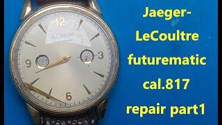 예거 르쿨트르 퓨쳐매틱 수리 Jaeger-LeCoult…