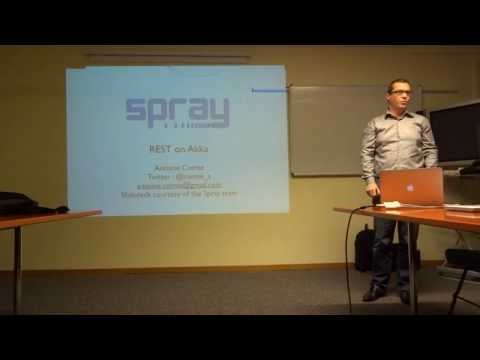 Spray : Un toolkit REST/HTTP