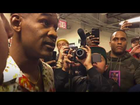 DANNY JACOBS AND JERMALL CHARLO GET UP CLOSE AND PERSONAL