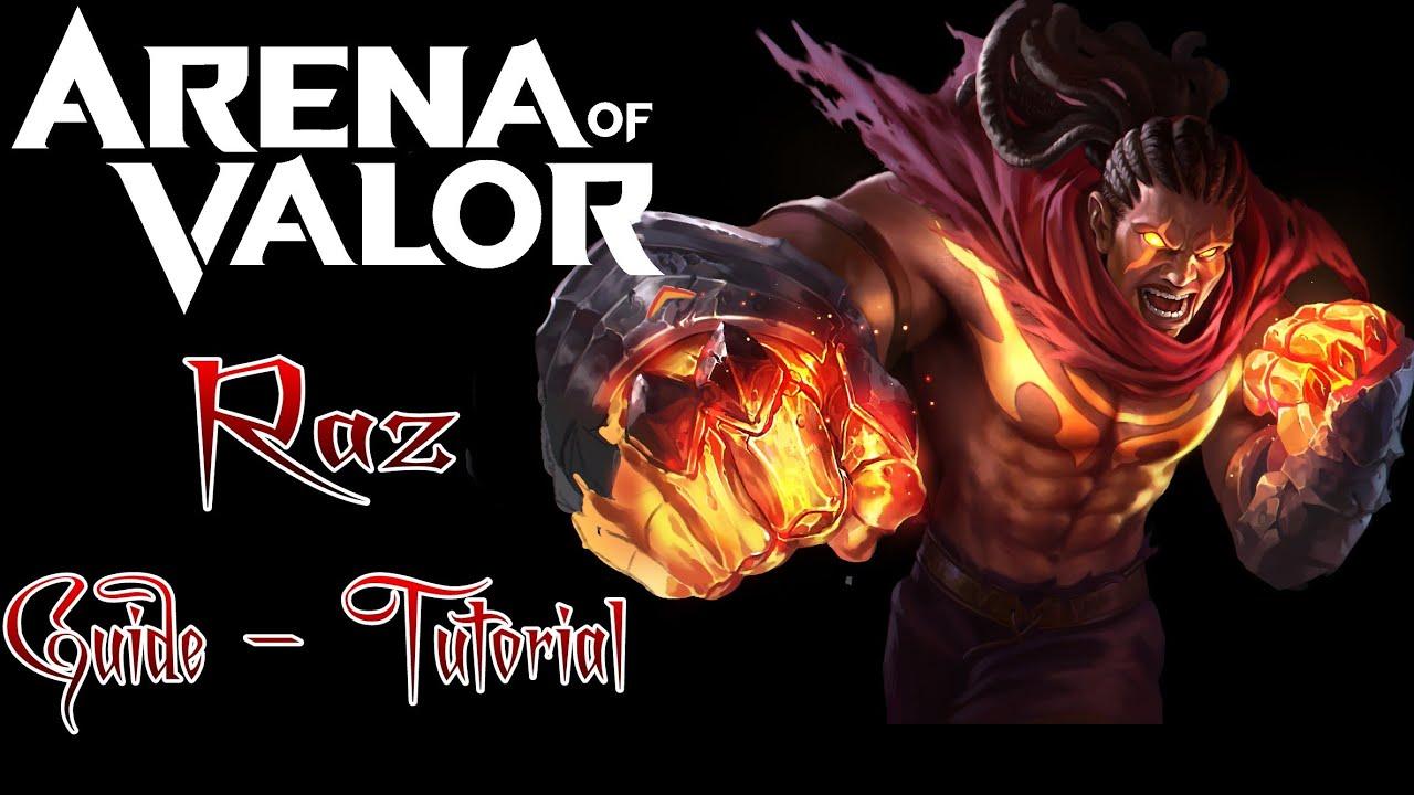 Raz Tutorial Guide Build Pro Gameplay Aov Arena Of Valor German Deutsch