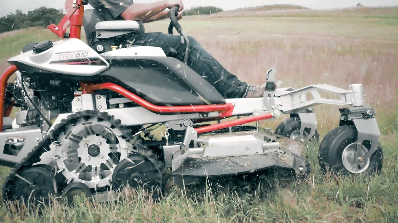 Altoz Trx World S First Zero Turn Track Mower Doovi