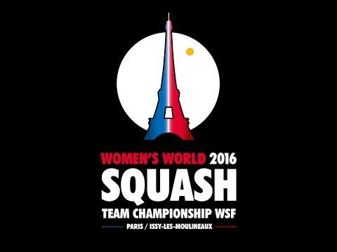 World Women's Team Squash - Day 4 Glass Court