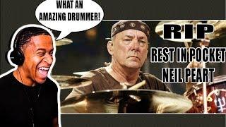 Neil Peart Drum Solo - Rush Live - Drummer Reaction