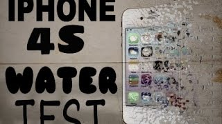 Iphone 4s Water And Ice Test In 2017..