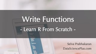 R Tutorial 35: Writing functions