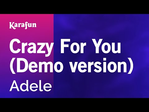 Karaoke Crazy For You (Demo version) - Adele *
