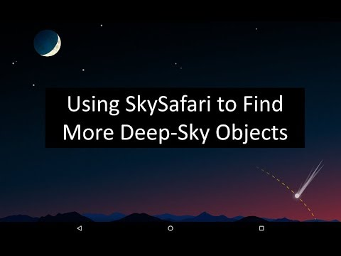 Finding Deep Sky Objects with SkySafari