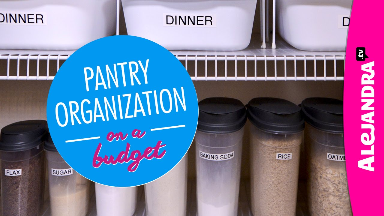 Pantry Organization On A Budget Part Of Dollar Store