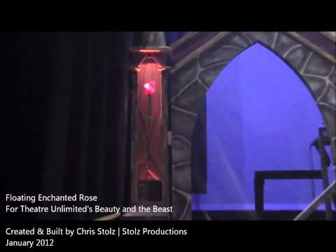Floating Enchanted Rose | Stolz Productions