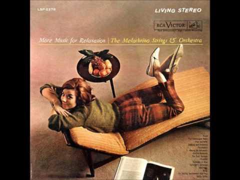 The Melachrino Strings   More Music For Relaxation 1961  GMB