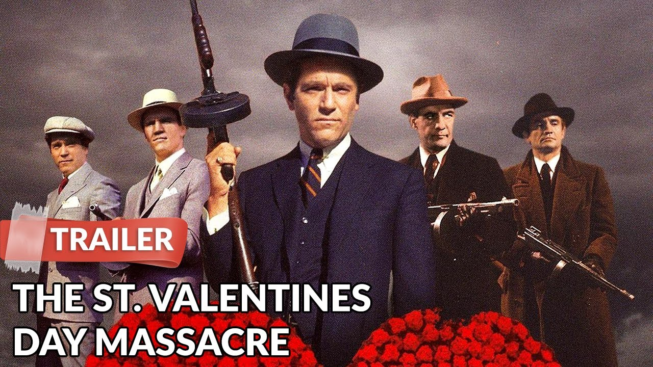 The St Valentines Day Massacre 1967 Trailer Jason Robards Youtube