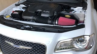 Chrysler 300: Cold Air Intake/Throttle Body Spacer Install