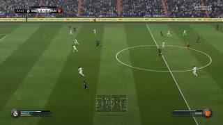 Fifa 18. Partido , REAL MADRID VS MANCHESTER UTD