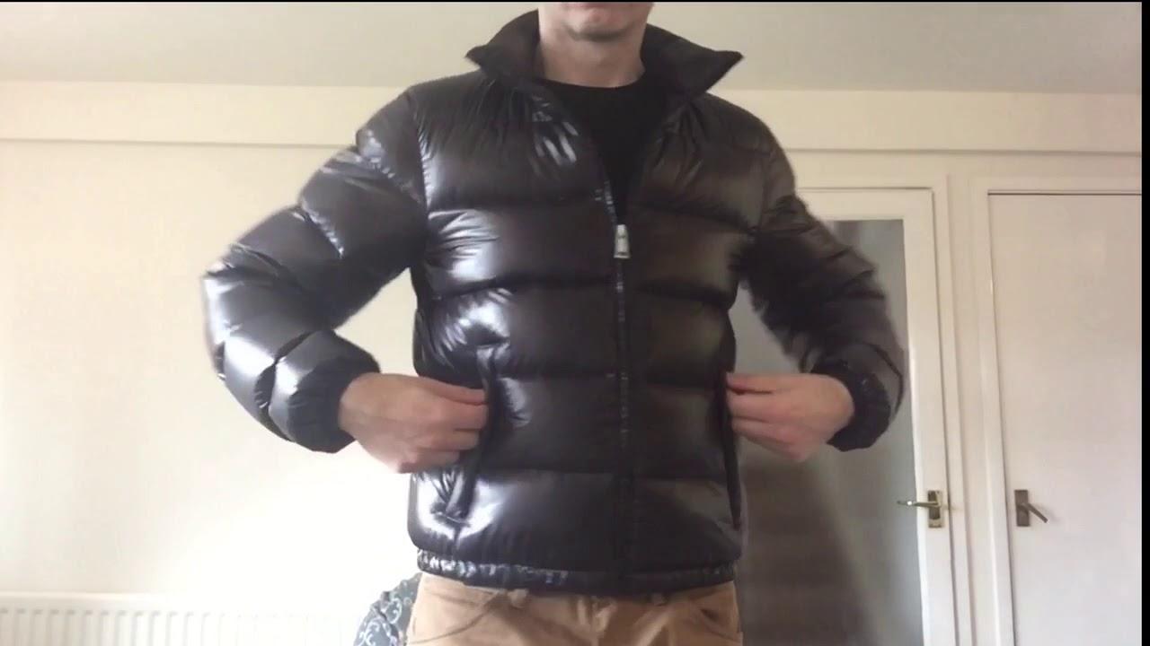 2b8fe67a8 Prada Down Fill Black Ripstop Puffer Jacket - Speed Review