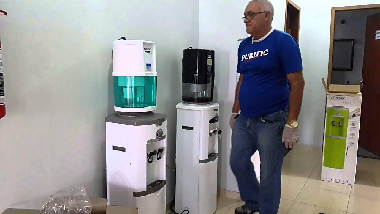 Purificador de gua ecol gico e sa de purific youtube for Purificadores de agua domesticos