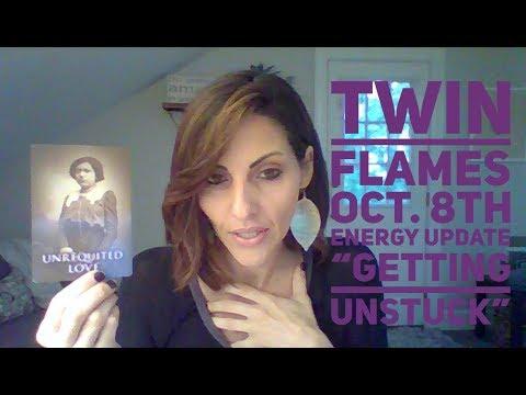 "TWIN FLAMES  ""Getting UNstuck"" October 8th Energy Update"
