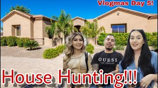 We Have Officially Started House Hunting!!! Vlogmas Day 5