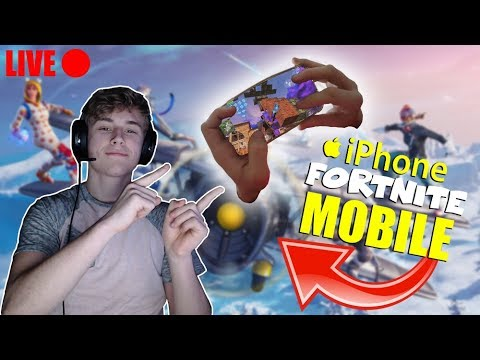 fortnite mobile bopping bots iphone 8 handcam 4 finger claw aggressive builder tune in - bots in fortnite mobile