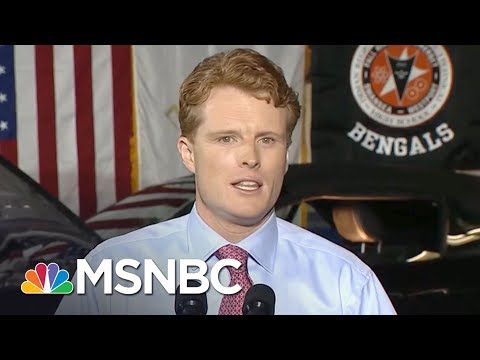 Rep. Joe Kennedy, III: I'm Not Running For President | AM Joy | MSNBC