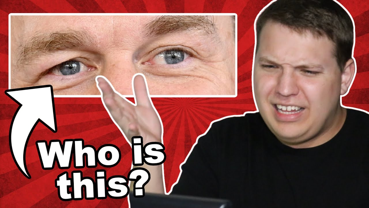 Guess the WWE Wrestler's Eyes Challenge!