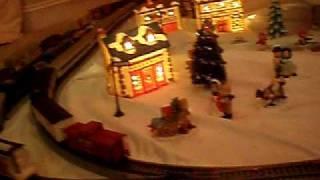 My Christmas Village Ho Train Layout