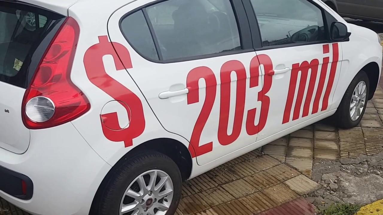 Fiat Palio Attractive 0 Km Full   203 000 Precio De