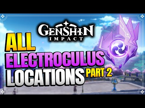 ALL Electroculus Locations (With Timestamps) - Part 2   【Genshin Impact】