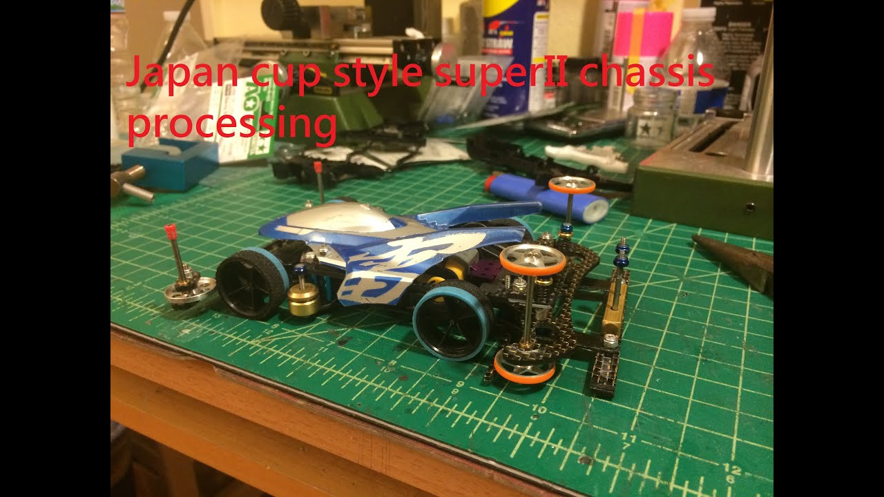Tamiya Mini 4wd Japan Cup Style Super Ii Chassis Build Up