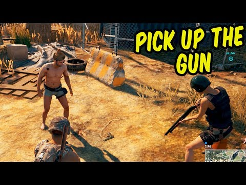 The Social Experiment - PlayerUnknown's Battlegrounds Funny Moments & Epic Stuff (PUBG)