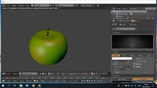 4 14 Практика. Сочное яблоко / видео уроки blender 3d