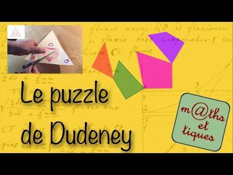 Le puzzle de Dudeney