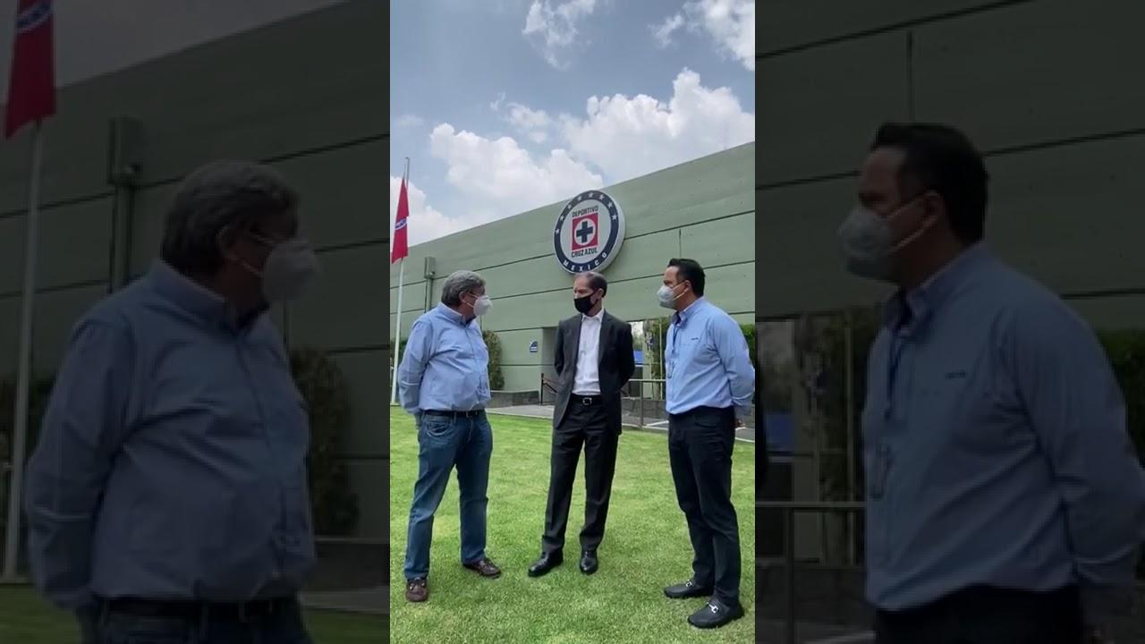 José Antonio Marín y Victor Velázquez visitaron a Jaime Ordiales en La Noria