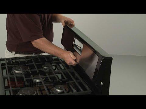 Oven Control Panel - Whirlpool Gas Range WFG505M0BS0