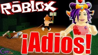 I'm leaving! ABANDONING YOUR LUCK ? FLEE THE FACILITY ROBLOX CRYSTALSIMS