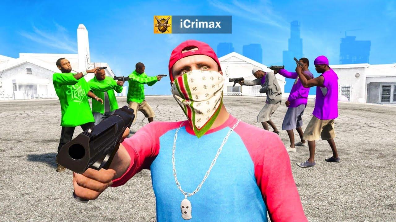 GANG KRIEG in GTA 5 RP!