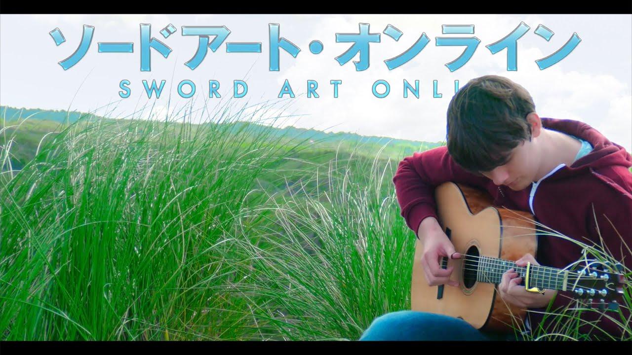 Sword Art Online OP2 'Innocence' [Fingerstyle Guitar Cover by Eddie van der Meer]