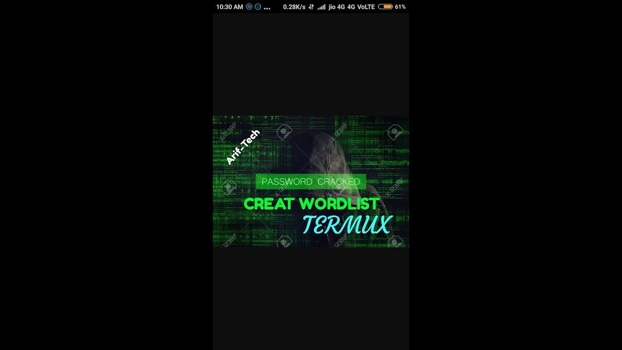 #termux #wordlist How to create Wordlist in Termux [ noroot ]