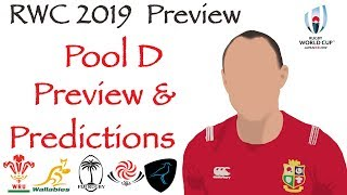 POOL D PREVIEW & PREDICTIONS | AUSTRALIA | WALES | GEORGIA | FIJI | URUGUAY | Rugby World Cup 2019
