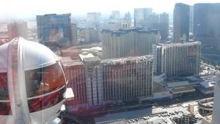 Вид на Лас-Вегас с колеса обозрения(Самое большое колесо обозрения в Лас-Вегасе, вид на дневной Лас-Вегас с высоты птичьего полета., 2015-01-12T09:54:35.000Z)