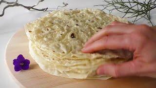 Mayasız LAVAŞ Ekmeği Tarifi|Çok Kolay|Hamur işleri|Masmavi3Mutfakta