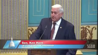 Sen. Horn on flooding of Tittabawassee River