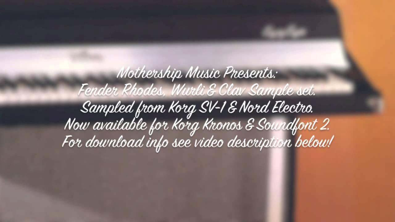 Korg SV-1 and Nord Electro 2: Fender Rhodes, Wurlitzer & Clavinet ...
