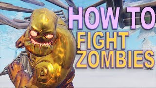 Fortnite Snow Zombies - How to Win