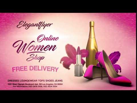 Online Women Shop After Effects Template