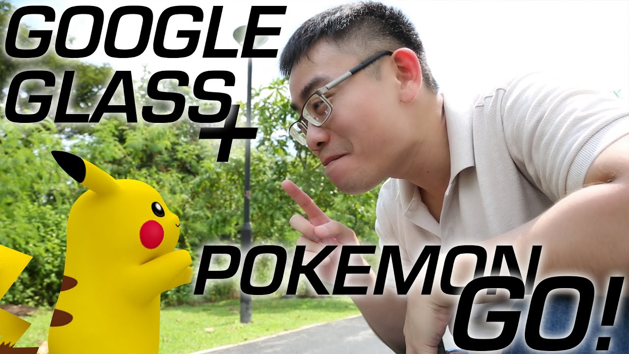 pokemon go + google glass/hololens = epic win! - youtube